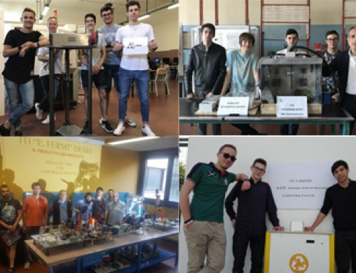 Industria 4.0: in gara i prototipi dei Makers meccatronici