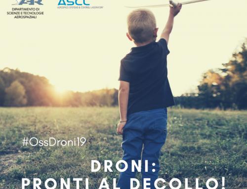 Droni: pronti a volare! Il punto dell'Osservatorio Droni del PoliMi