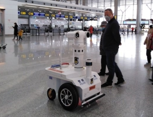 I Robot cinesi sul fronte anti-Coronavirus