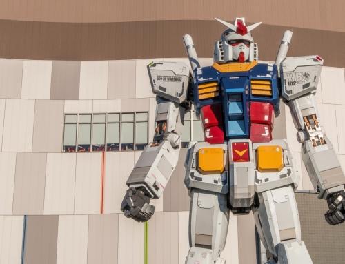 Gundam, il robot giapponese, diventa realtà!