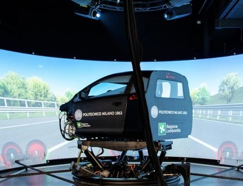 Dim400, il simulatore del PoliMi per perfezionare i sistemi di guida assistita e autonoma