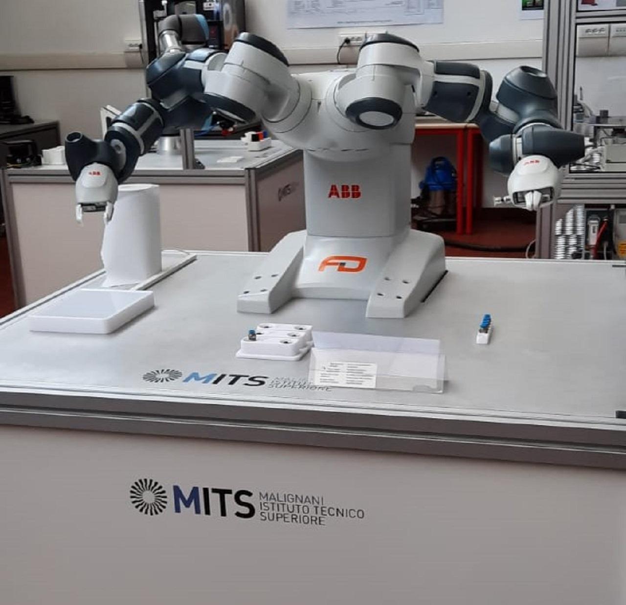 A scuola di robotica con Abb